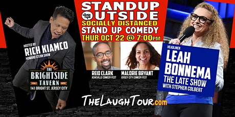 10/22  StandUp Outside! Comedy @ Brightside Jersey City tickets