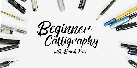 Beginner Brush Pen Calligraphy tickets
