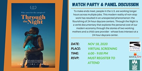 Through the Night Screening & Panel Discussion tickets
