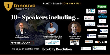 EcoCity Revolution: Innovators Driving a Clean and Sustainable Future tickets