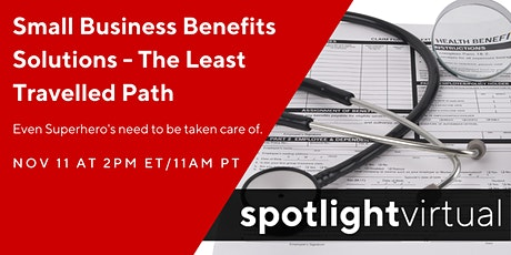 Small Business Benefits Solutions - The Least Travelled Path tickets