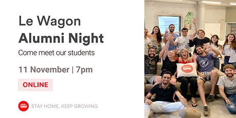 English Event - Alumni Night | Meet our Alumni and Team! | Le Wagon SP tickets