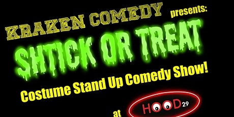 Kraken Comedy's Schtick or Treat tickets