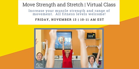 Move Strength and Stretch tickets