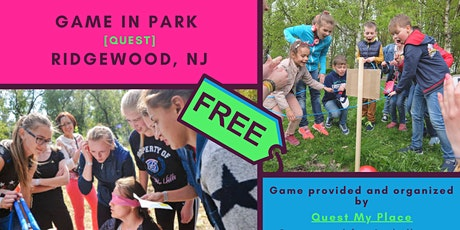 [FREE] Quest in NJ park. Family event. Bergen County. tickets