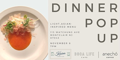 Dinner Pop Up tickets