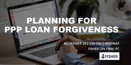 Planning for PPP Loan Forgiveness tickets