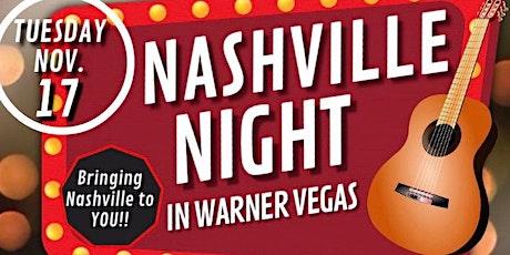 NASHVILLE NIGHT in Warner Vegas tickets