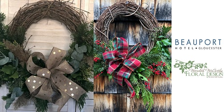 Holiday Wreath Design Class tickets