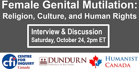 Female Genital Mutilation - Religion, Culture, and Human Rights tickets