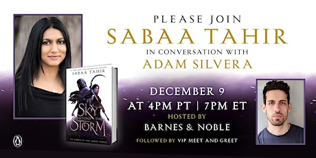 B&N Virtually Presents: Sabaa Tahir celebrates A SKY BEYOND THE STORM! tickets