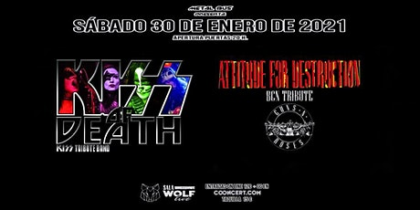 Attitude for Destruction BCN + Kiss of Death en Sala Wolf - Barcelona entradas