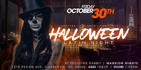 Latin Halloween Party | Mansion Nights tickets