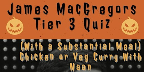 James MacGregor's Tier 3 Quiz tickets