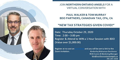 New Tax Strategies Given Covid!  Co-Hosted by NOA & BDO tickets