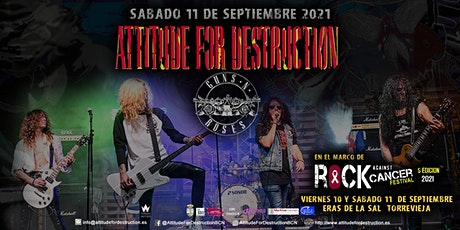 Attitude For Destruction - Guns N' Roses Tribute en Torrevieja Alicante entradas