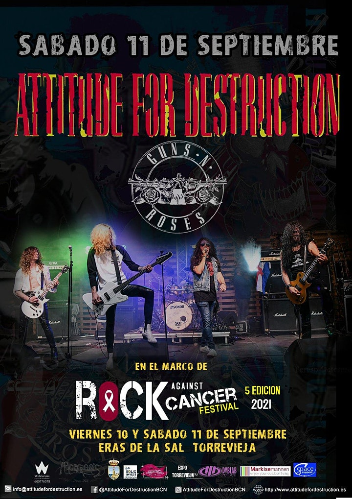 Imagen de Attitude For Destruction - Guns N' Roses Tribute en Torrevieja Alicante