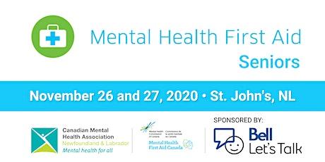 Mental Health First Aid - Seniors tickets