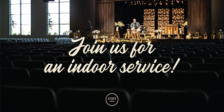 Sunday, October 25th 12:00pm Indoor Service tickets