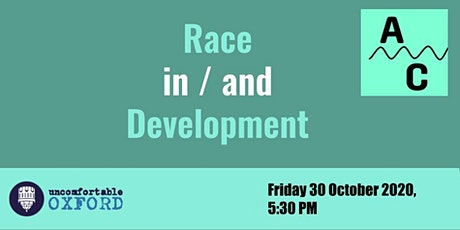 Race in/and Development - Talk and Discussion