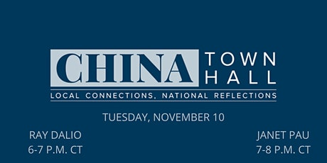 CHINA Town Hall tickets