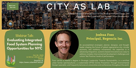 Evaluating Integrated Food System Planning Opportunities for NYC tickets