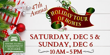 47th Annual Holiday Tour of Homes tickets