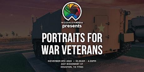 Portraits for War Veterans by Woodallen Media tickets