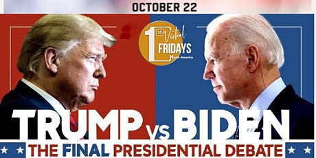 Presidential Debate 2020 Watch Party & Discussion w/Virtual First Fridays tickets