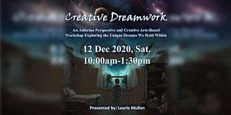Creative Dreamwork - An Adlerian Perspective & Creative  Arts Workshop tickets