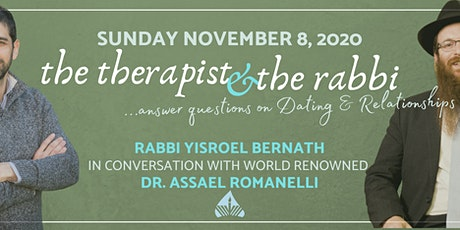 The Therapist and the Rabbi answer your questions on relationships tickets