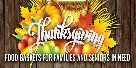 2020 Thanksgiving Food Basket Giveaway tickets