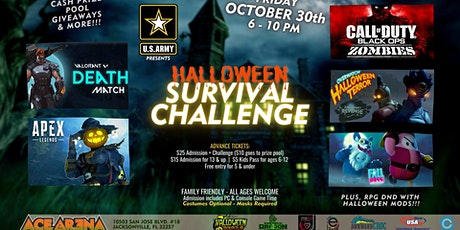 Halloween Survival Challenge tickets