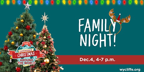 Christmas Around the World Family Night tickets