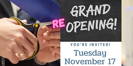 Re-Grand Opening tickets