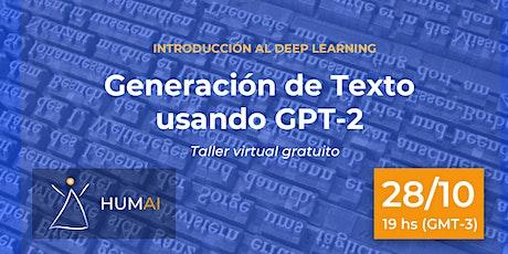 Introducción al Deep Learning: Generación de texto utilizando GPT-2 boletos