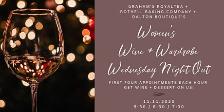 Women's Wine & Wardrobe Wednesday Night Out tickets