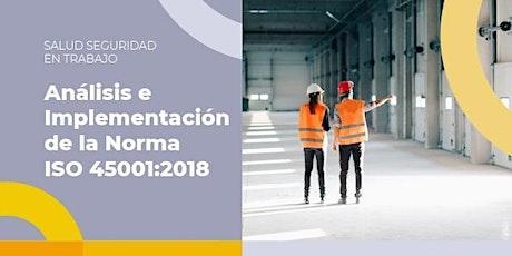Análisis e Implementación de la Norma ISO 45001:2018 entradas
