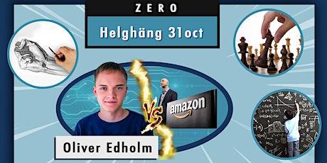 "Helghäng ""ZERO""- Entreprenörskap, AI, Matte, Draw for Fun, Schack biljetter"