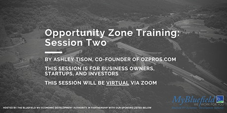 Opportunity Zone Training: Session Two tickets
