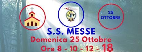 S.S. Messe DOMENICA 25 Ottobre 2020 biglietti