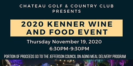 2020 Kenner Wine & Food Event tickets