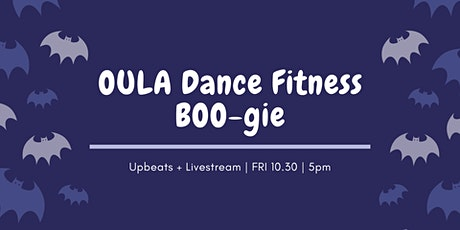 Halloween OULA Dance Fitness (livestream) tickets