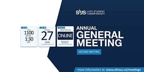 SUS ANNUAL GENERAL MEETING ( SECOND MEETING) tickets