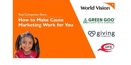 How to Make Cause Marketing Work for You tickets