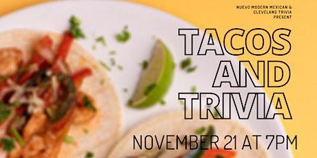 Tacos & Trivia At Nuevo Modern Mexican tickets