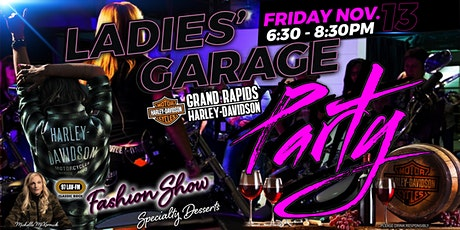 Ladies' Garage Party - Friday Nov. 13 tickets