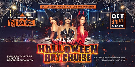 HELLA HYPHY HALLOWEEN BAY CRUISE WITH DJ TOURE tickets