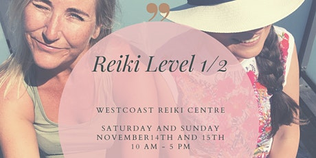 Usui Reiki Level 1/2 tickets