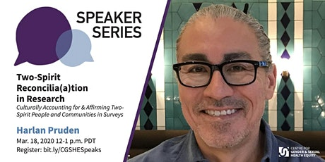CGSHE Speaker Series | Harlan Pruden tickets